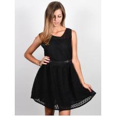 Picture Malou black společenské šaty krátké - L