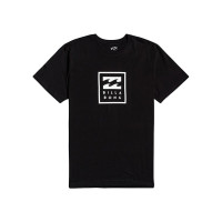 Billabong UNITY STACKED black pánské tričko s krátkým rukávem - XXL