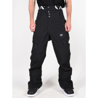 Picture Object 20/15 black pánské kalhoty na snb - M