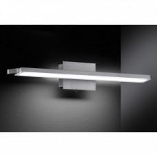 LED nástěnné svítidlo Agia 1x18,9W matný nikl, sklo
