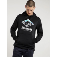 Element LAYER FLINT BLACK pánská mikina - XL