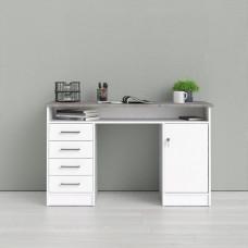 Psací stůl Function 42011 bílá/beton - TVI