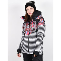 Roxy FROZEN FLOW TRUE BLACK ACTIVE BASE zimní bunda dámská - L