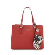 GUESS kabelka Tulip Shopper červená vel.