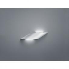 LED nástěnné svítidlo Tomi kartačovaný hliník
