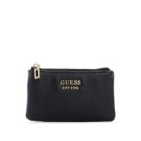 GUESS peněženka Katey Zip Pouch černá vel.