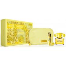 Versace Yellow Diamond W toaletní voda 90ml + toaletní voda 10ml + kosmetická taška