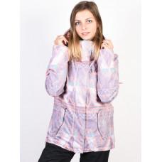 Roxy JETTY MINIMAL GREY MOSAIC zimní bunda dámská - S