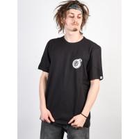 Element BLAST OFF BLACK pánské tričko s krátkým rukávem - M