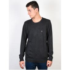 Volcom Uperstand black pánský značkový svetr - S