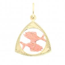 Zlato Zlatý přívěsek znamení zvěrokruhu 3220018 Znamení zvěrokruhu: Ryby