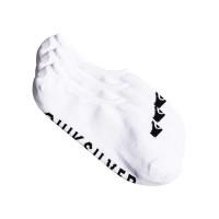 Quiksilver LINER 3PACK white pánské kotníkové ponožky