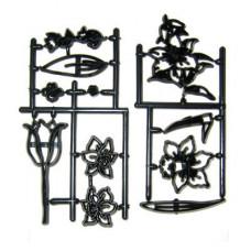 Patchwork, Jarní květiny, sada (Spring flower set)