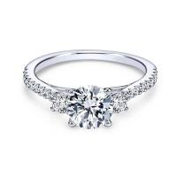 OLIVIE Zásnubní stříbrný prstýnek 4228 Velikost prstenů: 9 (EU: 59 - 61)