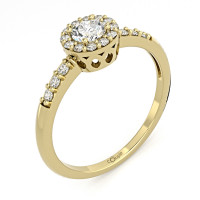 Couple Zlatý dámský prsten Sari 6610270 Velikost prstenu: 51