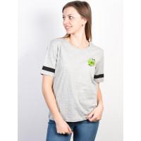 Element YAWYD HEATHER GREY dámské tričko s krátkým rukávem - XS