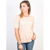 Element ELEMENT LOGO BLUSH dámské tričko s krátkým rukávem - L