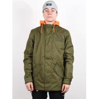 Dc UNION olive night zimní bunda pánská - XXL