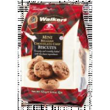 Walkers mini čokoládové sušenky 125g