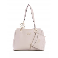 GUESS kabelka Tara Girlfriend Satchel moonstone vel.