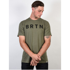 Burton BRTN DUSTY OLIVE pánské tričko s krátkým rukávem - XL