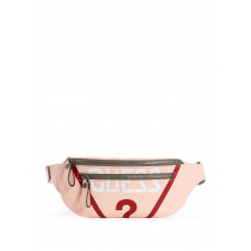 GUESS ledvinka Originals Logo Fanny Pack rose multi vel.