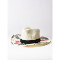 Roxy LOOK FOR RAINBOWS MARSHMALLOW TROPICAL LOVE dámský slaměný klobouk - M/L