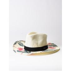 Roxy LOOK FOR RAINBOWS MARSHMALLOW TROPICAL LOVE dámský slaměný klobouk - S/M