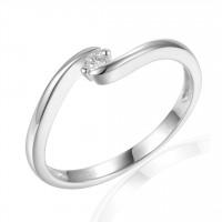 Couple Zlatý dámský prsten Brennon 3860726 Velikost prstenu: 50
