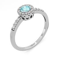 Zlato Zlatý dámský prsten Sari 6660270 Velikost prstenu: 52