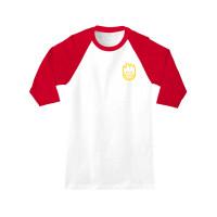 Spitfire BIGHEAD DBL WHT/RED pánské tričko s dlouhým rukávem - XL