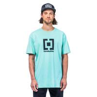 Horsefeathers BASE misty jade pánské tričko s krátkým rukávem - L