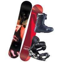 K2 FIRST LITE dámský snowboardový set