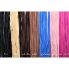 OLIVIE Kožený provázek 1550 Barvy: Černá