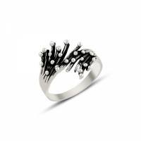 OLIVIE Stříbrný prsten FIONA 1574 Velikost prstenů: 9 (EU: 59 - 61)