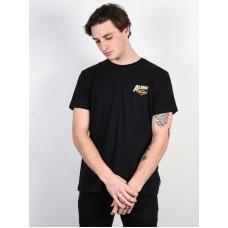 Billabong ALHOA black pánské tričko s krátkým rukávem - L