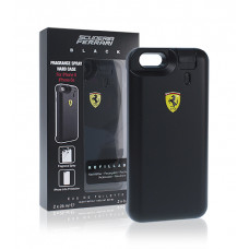 Ferrari Scuderia Black M toaletní voda 25ml + Fragrance Spray Hard Case iPhone 6/6s