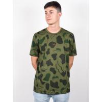 Oakley ALLOVER SUNGLASS CAMOU GREEN pánské tričko s krátkým rukávem - M
