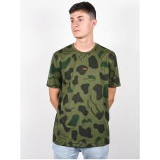 Oakley ALLOVER SUNGLASS CAMOU GREEN pánské tričko s krátkým rukávem - XL