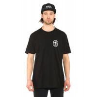 Horsefeathers FANG black pánské tričko s krátkým rukávem - S