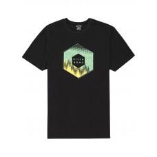 Billabong X-CESS black pánské tričko s krátkým rukávem - M