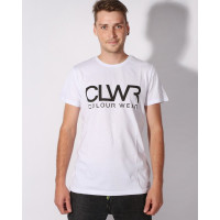 Colour Wear WEAR CLWR white pánské tričko s krátkým rukávem - M