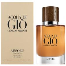 Giorgio Armani Acqua di Gio Absolu parfémovaná voda Pro muže 40ml