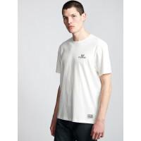 Element IN THE OWL off white pánské tričko s krátkým rukávem - M