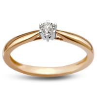Zlato Zlatý dámský prsten 3326/10 Velikost prstenu: 52