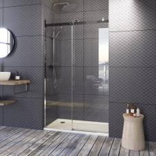 Aquatek TEKNOSOFT B2 155 - Luxusní sprchové dveře zasouvací 152-156 cm, sklo 8mm