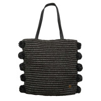 Billabong PALMS UP black velká plážová taška