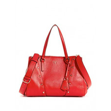 GUESS kabelka Kaia Girlfriend Satchel červená vel.