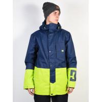 Dc DEFY INSIGNIA BLUE zimní bunda pánská - XL