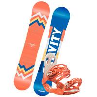 Gravity THUNDER 1 dámský snowboardový set
